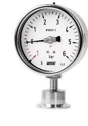 Pressure Gauges Clamp End Sanitary ,Stainless MTB Diaphragm-Seal Pressure Gauges 304